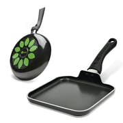 Ecolution Artistry 2 Piece Non-Stick Fry Pan and Griddle Set; 8'' W x 8'' D