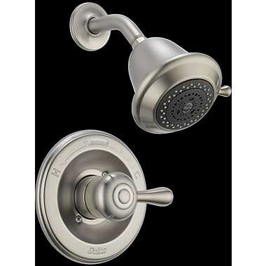 Delta Leland Monitor Shower Faucet Trim; Brilliance Stainless