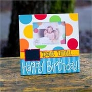 Glory Haus Days Until Happy Birthday Picture Frame
