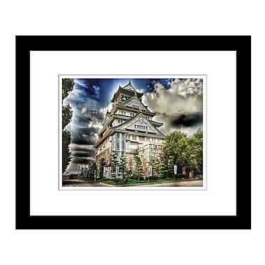 PrestigeArtStudios Osaka Castle Framed Photographic Print