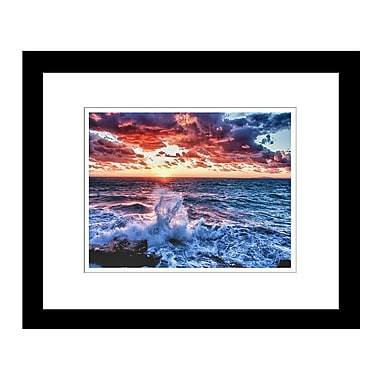 PrestigeArtStudios Sailors' Warning Framed Photographic Print