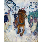 PrestigeArtStudios Galloping Horse Painting Print