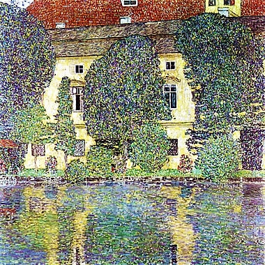 PrestigeArtStudios The Schloss Kammer on the Attersee Painting Print