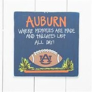 Glory Haus Auburn Tailgate Sign Painting Print