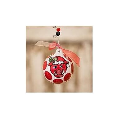 Glory Haus Arkansas Ball Ornament