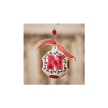 Glory Haus Nebraska Ball Ornament