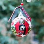Glory Haus Georgia UGA Ball Ornament