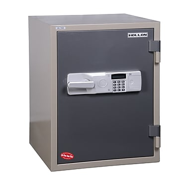 Hollon Safe 2 Hr Fireproof Electronic Lock Office Safe; 2.43 CuFt