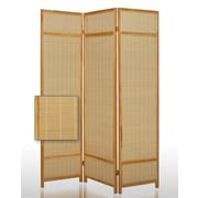 Screen Gems 72'' x 52'' Pine Layered 3 Panel Room Divider