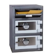 Hollon Safe Steel Commercial Depository Safe; Dual Electronic Lock