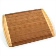 Totally Bamboo Hawaiian Kona Grooved Cutting Board