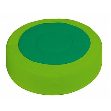 Wesco NA Cocoon Kids Floor Cushion; Light Green / Dark Green