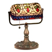 Warehouse of Tiffany Banker Eyes 13'' Table Lamp