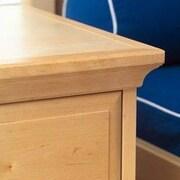Wildon Home   CrownKit for High Low Shelving Unit Part; White