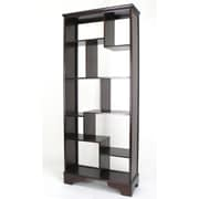 Wayborn 10 Compartment Geometric 78'' Cube Unit Bookcase