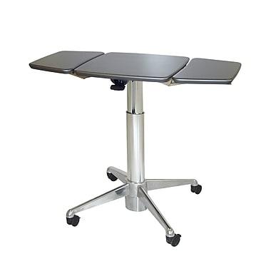 Workstuff Adjustable Laptop Cart; Cloud