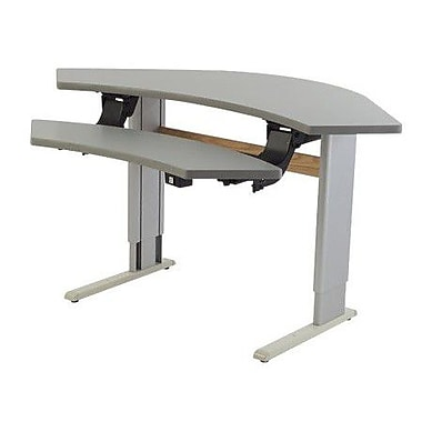 Populas 42'' W Infinity Adjustable Computer Table w/ Leg Glides; Digital Storm