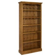 A&E Wood Designs Americana 84'' Standard Bookcase; Light