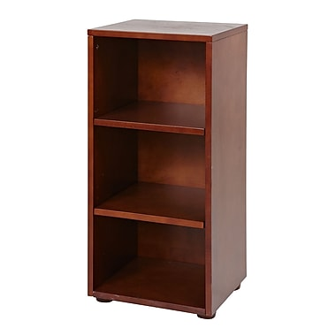 Maxtrix Kids Storage Units 32'' Standard Bookcase; Chestnut