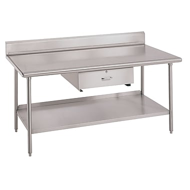 IMC Teddy Worktable Utility Prep Table; 34'' H x 96'' W x 30'' D