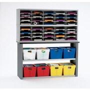 Charnstrom 42 Compartment Mailroom Organizer