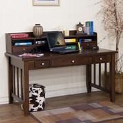sunny designs cappuccino 13 h x 57 w desk hutch - Sunny Designs Desk