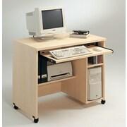 Tvilum 600 Series 38'' W Computer Desk AV Cart; Light Maple