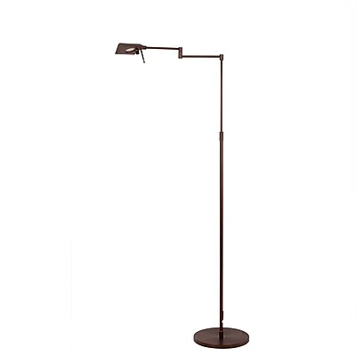 Fangio Lighting Adjustable Metal Floor Lamp, 53.75