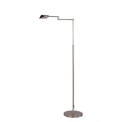 Fangio Lighting Adjustable LED Metal Floor Lamp, 53.75