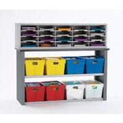 Charnstrom 22 Compartment Mailroom Organizer