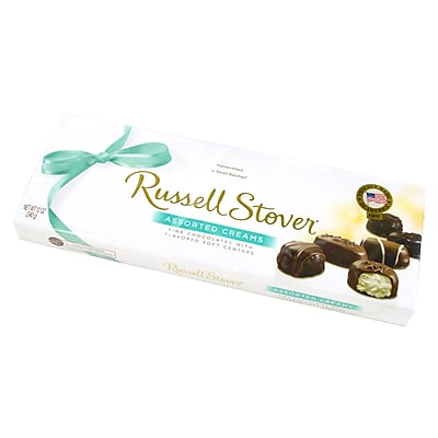Russell Stover Assorted Creams Chocolate, 12 oz. Box, Pack of 3 (4011)