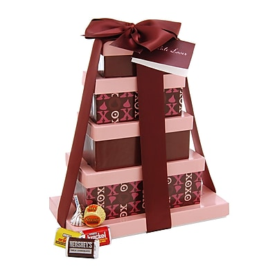 Hershey's Chocolate Lover's Rectangular Tower, 47 oz. (54060)