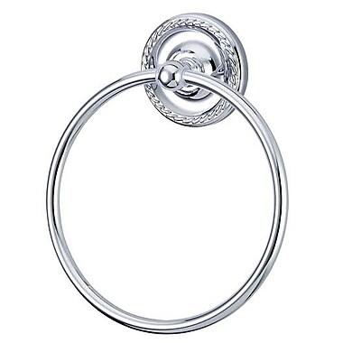 Kingston Brass Laurel Wall Mounted Towel Ring; Polished Chrome