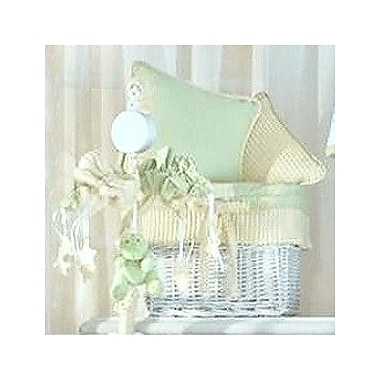 Brandee Danielle Froggy Decorator Throw Pillow; Yellow