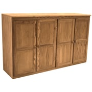 Concepts in Wood Multi Storage Unit TV Stand and Buffet; Dry Oak