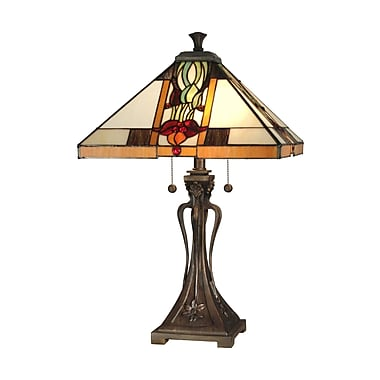 Dale Tiffany Natalie Mission 26'' Table Lamp