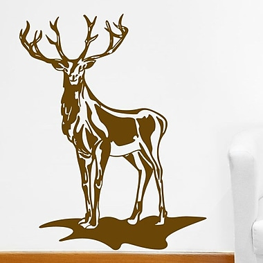 Style and Apply Deer Wall Decal; White