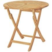 HiTeak Furniture Royal Round Folding Table