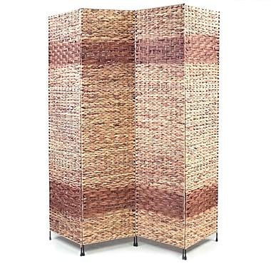 Proman 67'' x 60'' Jakarta-B Folding Screen 4 Panel Room Divider