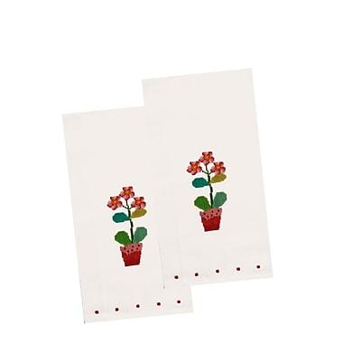 The Designs of Distinction Dahlia Dish Towel (Set of 2)