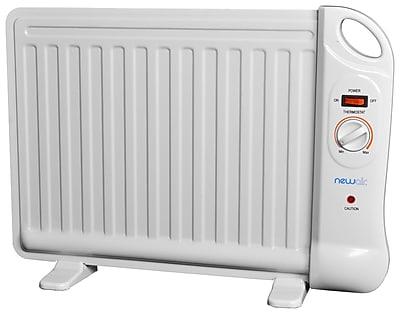 NewAir Personal Office Heater, 40 sq. ft., 400 Watt, White (AH-400)