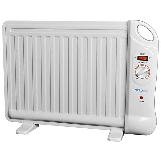 NewAir Personal Office Heater; 40 sq. ft., 400 Watt, White (AH-400)