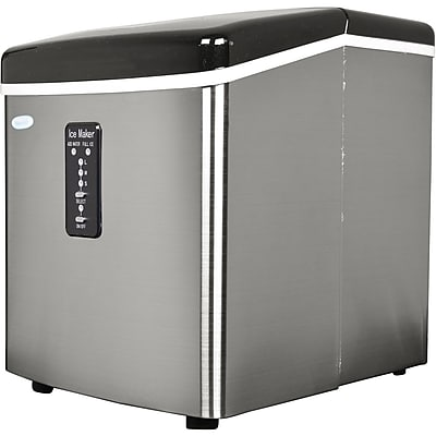 NewAir 28 lbs/Day Portable Ice Maker (AI-100SS)