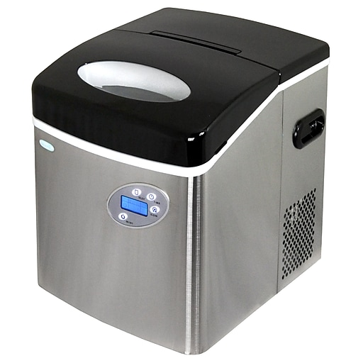 NewAir Portable Ice Maker, Stainless Steel (AI-215SS)