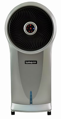Luma Comfort Portable Evaporative Cooler, 250 sq. ft., Silver (EC110S)