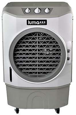 Luma Comfort Commercial Evaporative Cooler, 650 sq. ft., White (EC220W) 1781832