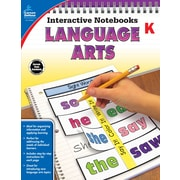 Interactive Notebooks Language Arts Kindergarten Resource Book Paperback (104651)