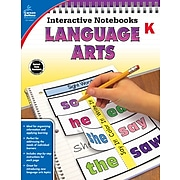 Interactive Notebooks Language Arts Kindergarten Resource Book Paperback (104651)