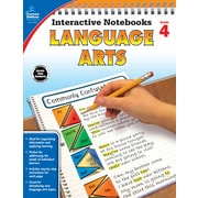 Interactive Notebooks Language Arts Grade 4 Resource Book Paperback (104655)