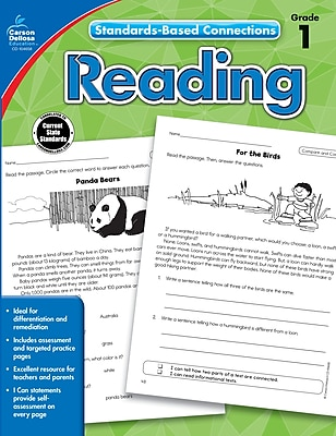 Standards-Based Connections Reading Grade 1 Workbook Paperback (104658)